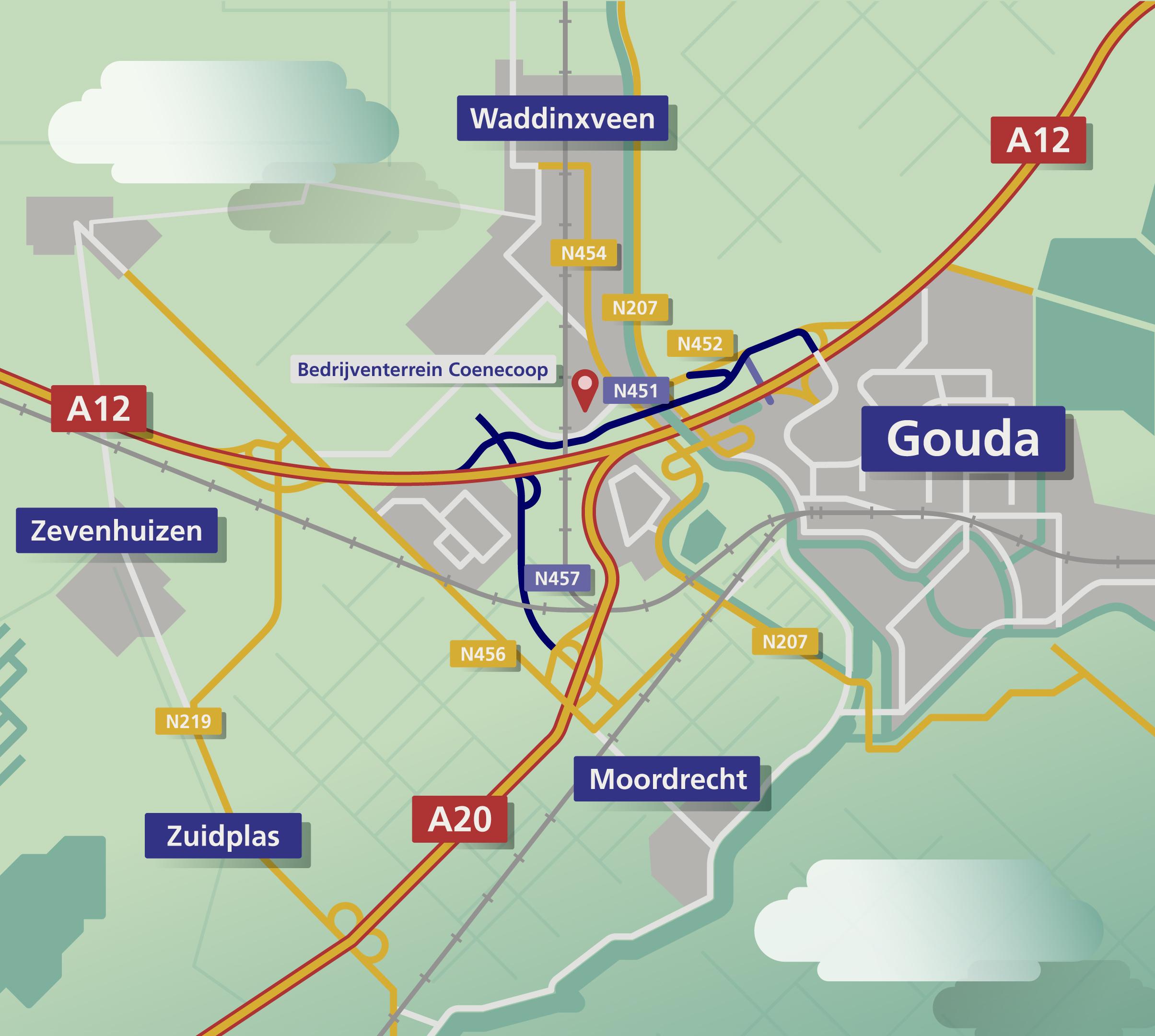 Kaart-Regio-Gouda-Parkeerplaats-v10
