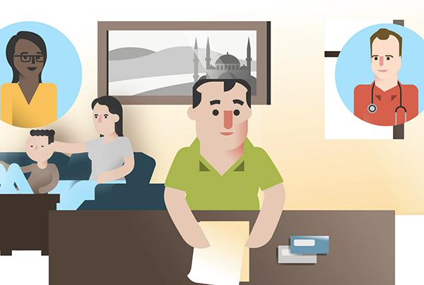 Animatie – Wijkgezondheidscentrum – Belgie